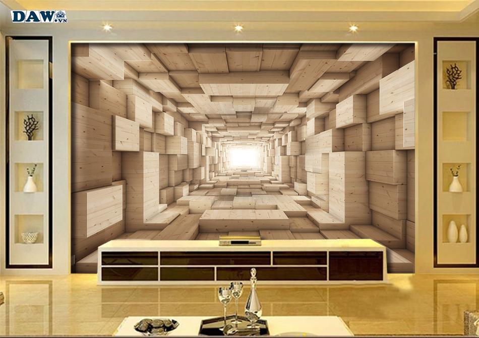 Tranh dán tường 3D | tranh 3D đẹp, tranh tường 3D