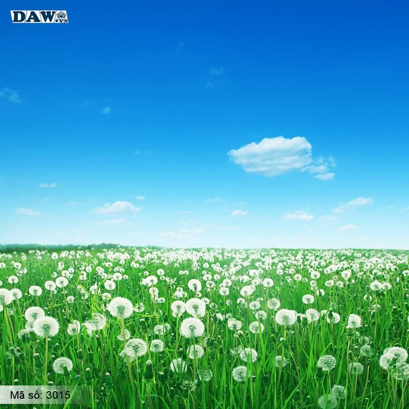 3015 Tranh dán tường Hàn Quốc | Tranh dán tường hoa lá 3015