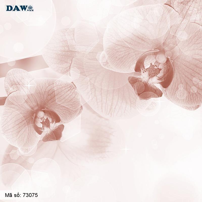 3075 Tranh dán tường Hàn Quốc | Tranh dán tường hoa lá 3075