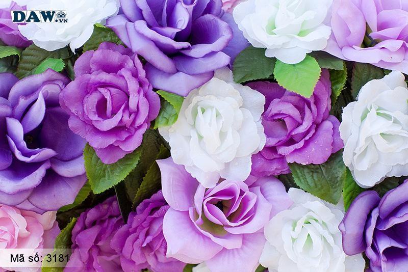 3181 Tranh dán tường Hàn Quốc | Tranh dán tường hoa lá 3181