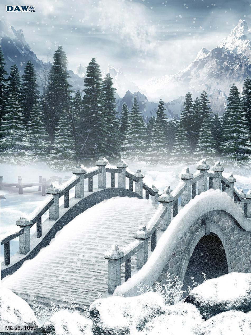 1059 Tranh dán tường Hàn Quốc | Tranh dán tường Thiên Nhiên - Phong Cảnh 1059