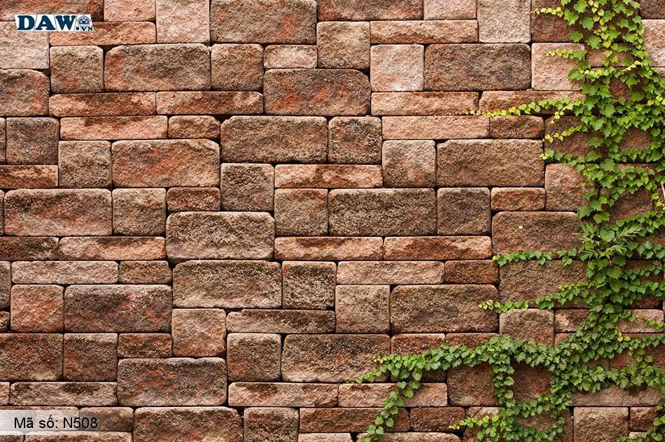 N508 Tranh dán tường Hàn Quốc | Tranh dán tường Dây leo tường N508