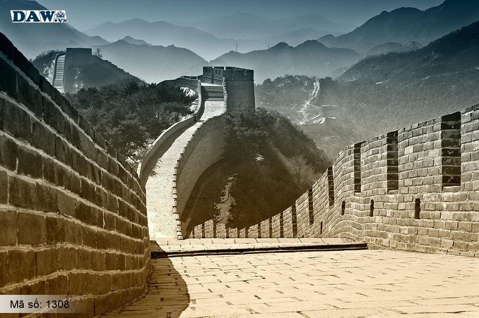 1308 Tranh dán tường Hàn Quốc | Tranh dán tường Thiên Nhiên - Phong Cảnh 1308