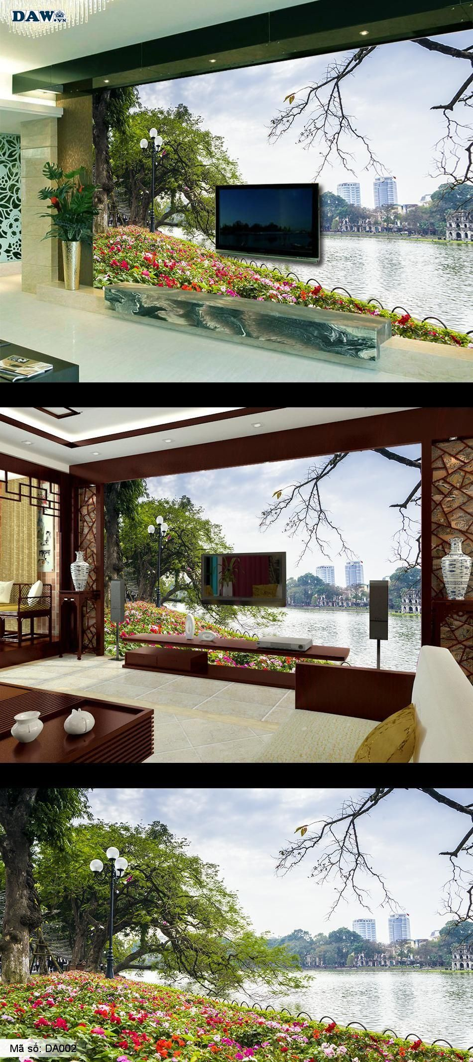 Hồ Hoàn Kiếm, Hồ Gươm, mùa xuân Hà Nội, Hồ Con Rùa DA002