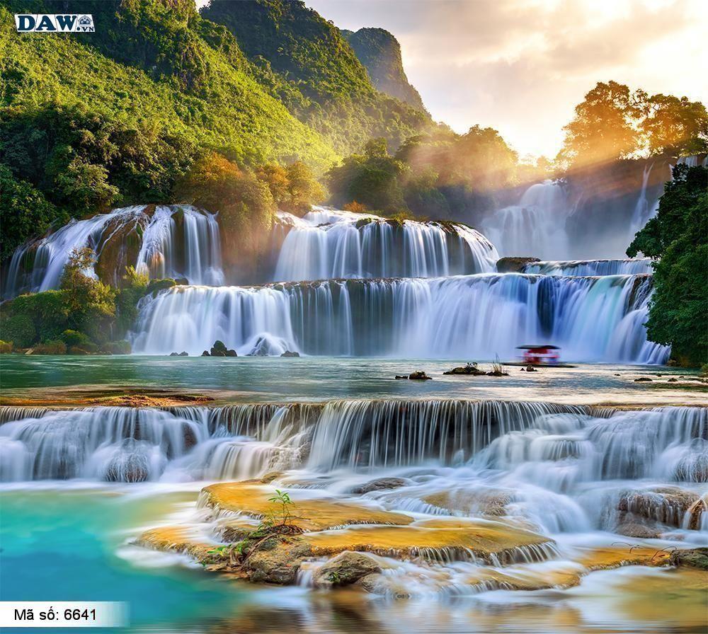 Tranh dán tường thác nước, thác nước đẹp 6641