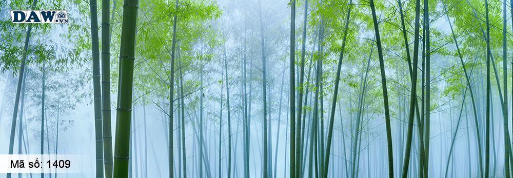 Tranh dán tường hình cây tre, rừng tre, bụi tre, lùm tre, tre 1409